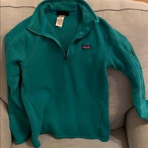 Patagonia quarter zip size small